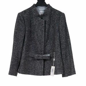 Antinea Srl Alpaca Wool Cropped Jacket
